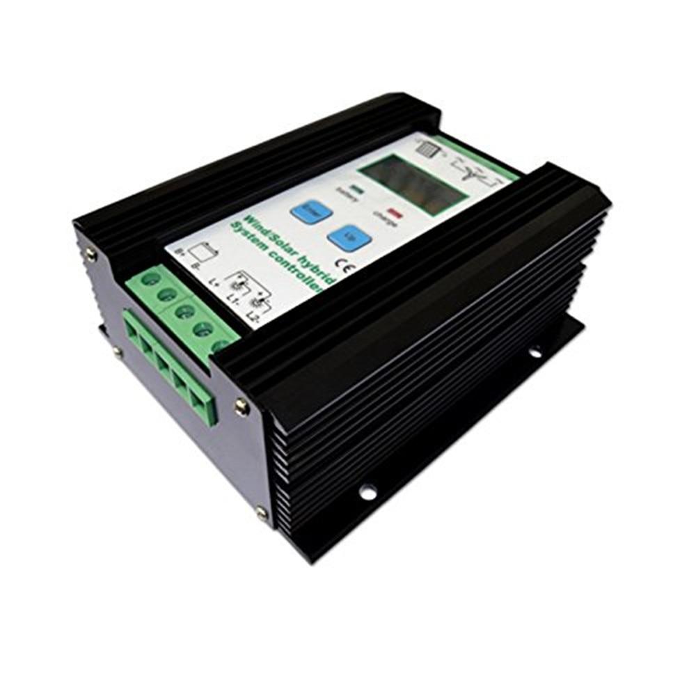 1000 Вт экономические Солнечный ветер гибридный контроллер бытовой вентилятор 12V24V 600 Вт + солнечных модулей 400 Вт ШИМ неограниченное разгрузк