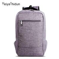 MeiyaShidun Neue Designe Marke Urban Rucksack Männer Frauen tragbare Minimalistische Mode Reise denim Rucksäcke Laptop schultasche