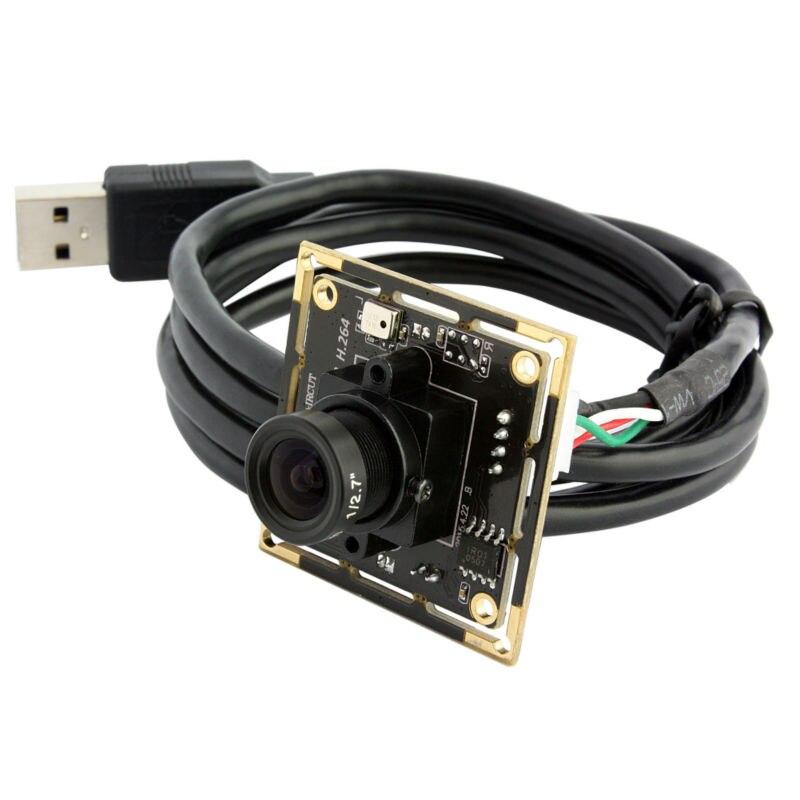 ELP Industrial HD 720P Mini CCTV Security Camera USB Web Cam CMOS OV9712 Board Camera Module