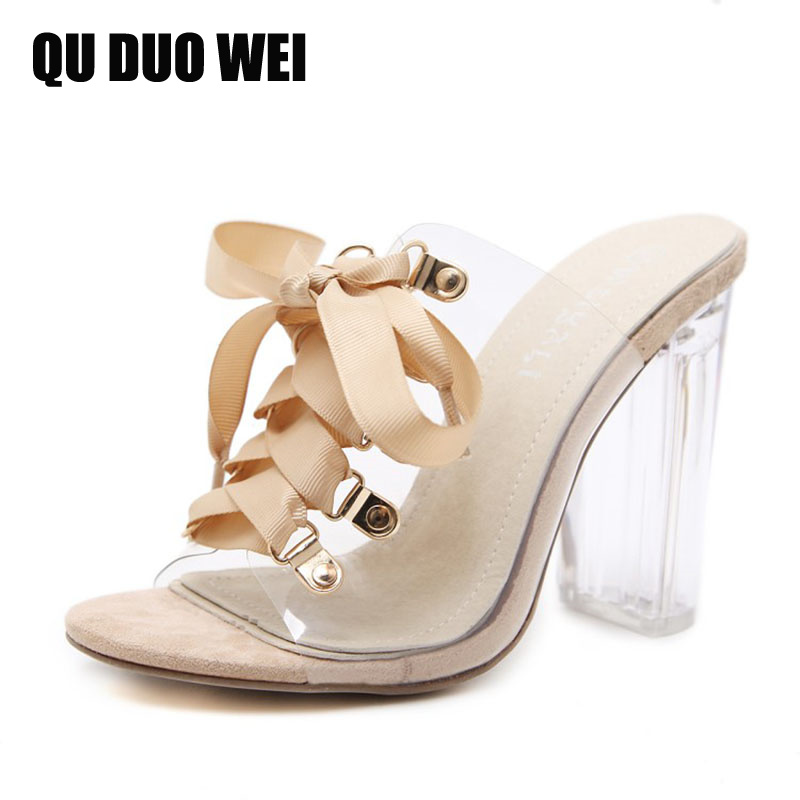 open toe extreme high heels shoes pvc women sandals 2018 new summer square transparent heels shoes woman cross-tied flip flops crystal high heels shoes platform transparent pvc cross strap women gladiator sandals square toe nightclub party wedding shoes