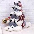Buena Calidad 40 CM 2016 Caliente Siberian Husky perro de peluche de juguete está en decúbito prono muñeca creativa del Día de San Valentín mejores regalos para la Muchacha niños