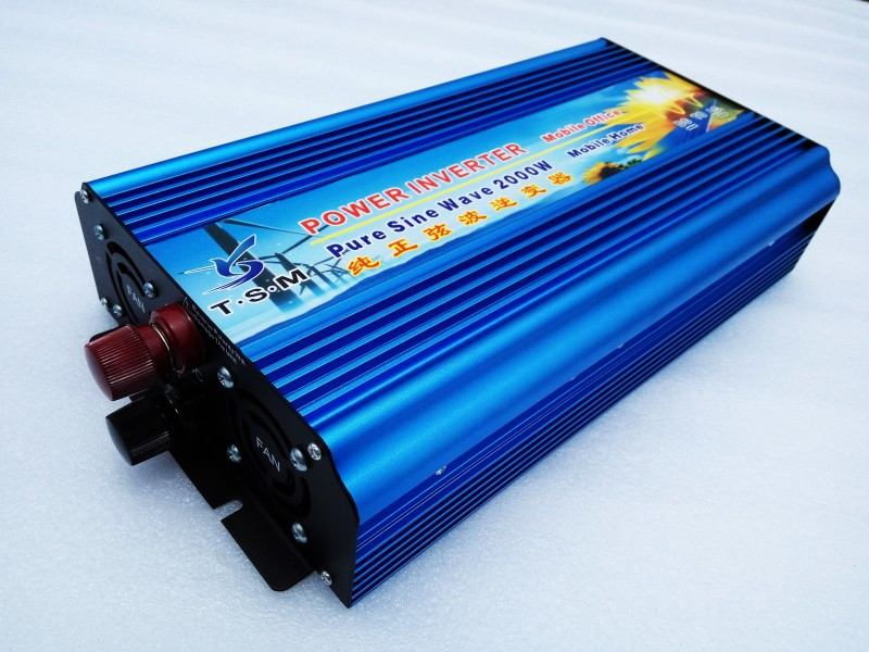 цена на 4000W Peak 2000w power inverter 2000W pure sine wave inverter 230V 220V solar inverter 2000w invertitore puro