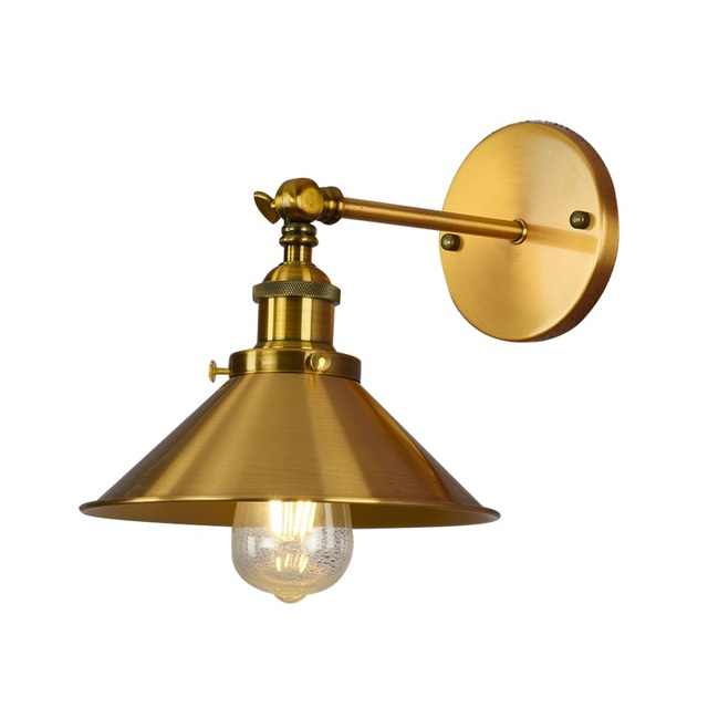 Retro Loft Style Wall Sconce Edison Industrial Iron Lamp LED Vintage Wall Light Fixtures Home Indoor Lighting Lampara Pared