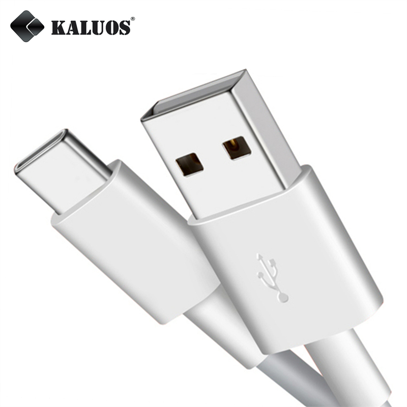 KALUOS Type-C USB Data Sync Charger Cable For Xiaomi 5 4S Samsung S8 Plus LG G5 Moto Z honor 8 V8 V9 ZUK Z1 Z2 OnePlus 2 3 3T 5