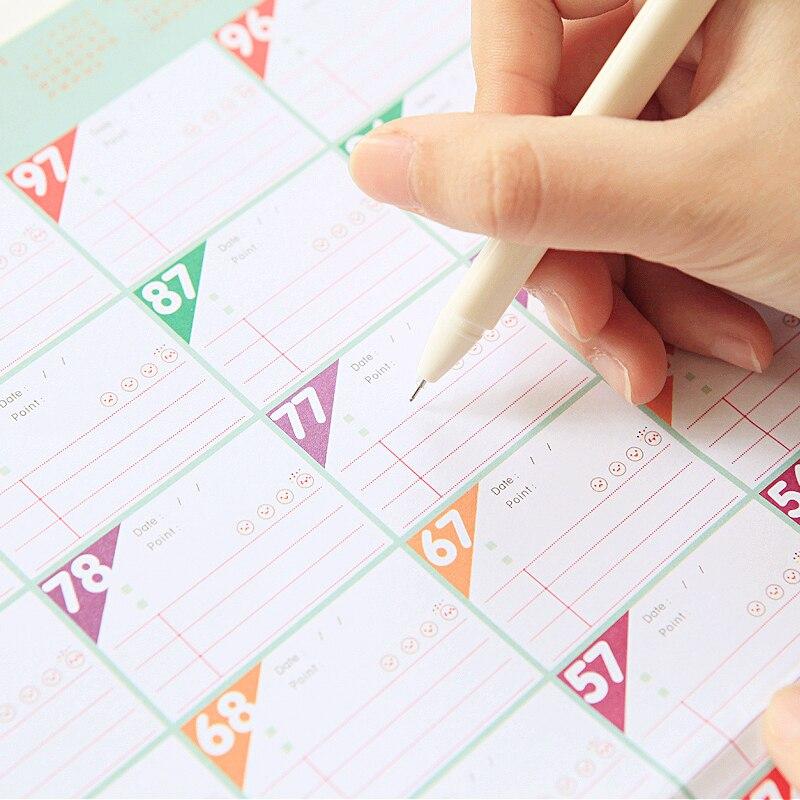 Calendar Calendars, Planners & Cards Logical 2019 Lovely Christmas Calendar Diy Desktop Calendar Agenda Organizer Daily Schedule Planner 2018.09~2019.12