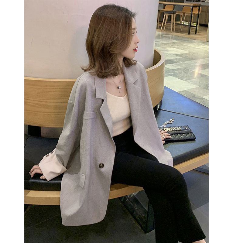 2019 Spring New Korean Version Of A Long-Sleeved Casual Small Suit Women Fashion Loose Women Jackets And Coats Suit
