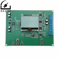 4 Channels 4 20mA Current Signal Generator Module Board With 12864 Digital LCD Display