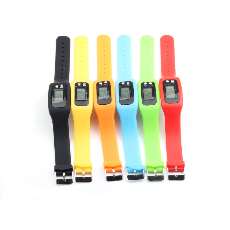 Pedometer Digital wristband LCD Watch Running Step Walking Distance Calorie Counter Tracker Bracelet Sports Fitness Pedometers