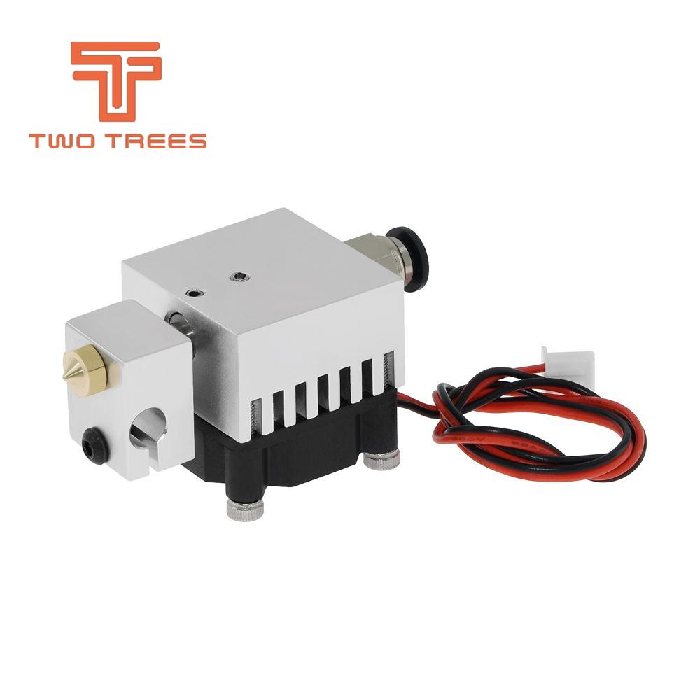 3D Chimera Hotend Kit  2 IN 2 OUT extruder Multi-extrusion All metal V6 Dual Single extruder 0.4mm1.75mm 3D printer parts (4)
