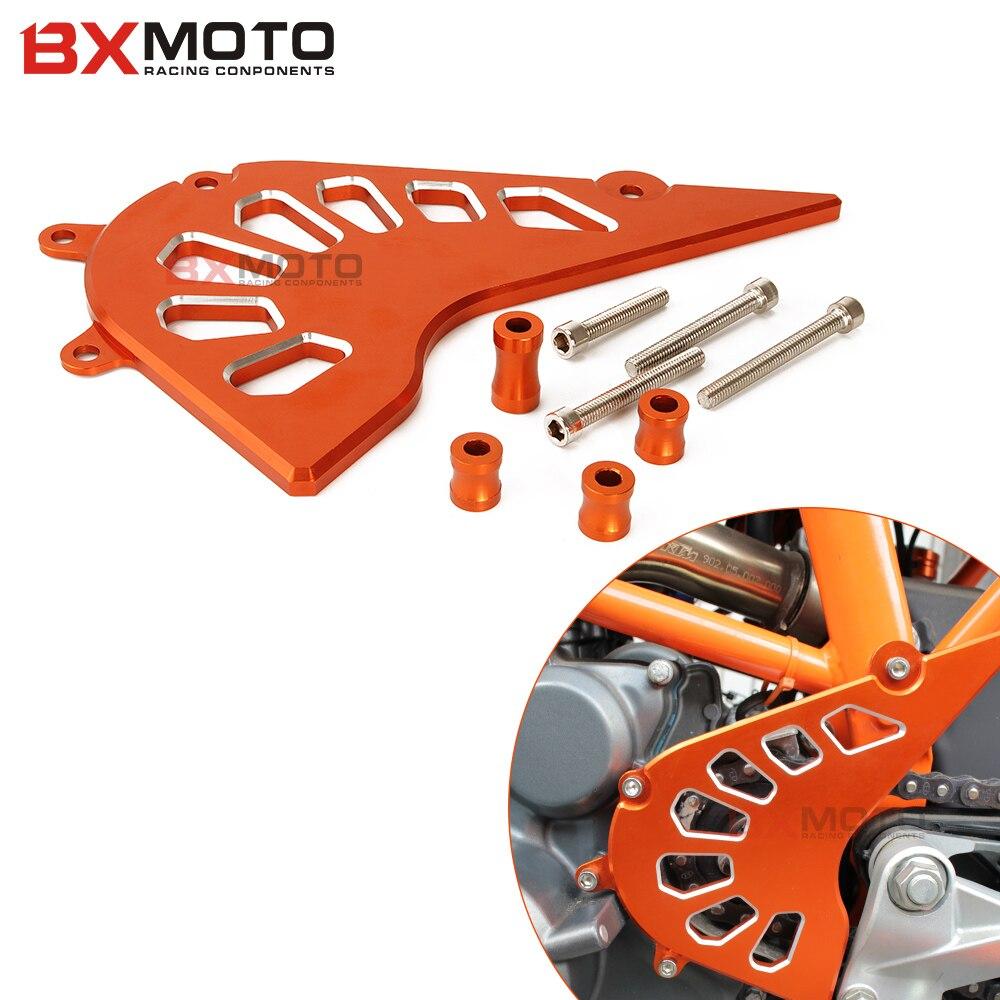 Mode motorrad CNC Aluminium Billet Kettenblatt Abdeckung Motor - Motorradzubehör und Teile - Foto 2