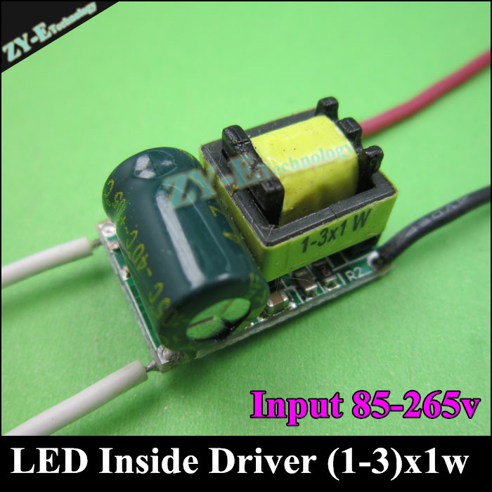 10pc led inside driver 300mA 3W LED Driver1W 3W*1W Lighting Transformer Power Supply for bulb Lihgt Lamp Durable free shipping