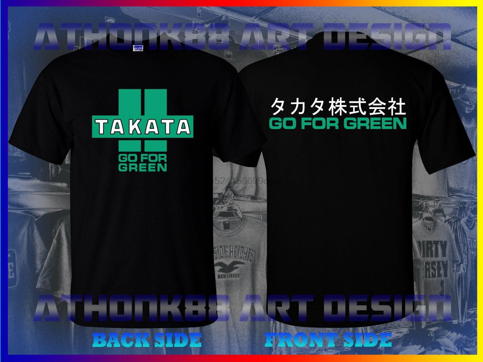 New Takata Racer Scion Fr S T Shirt Takata Go For Green Mens T Shirt
