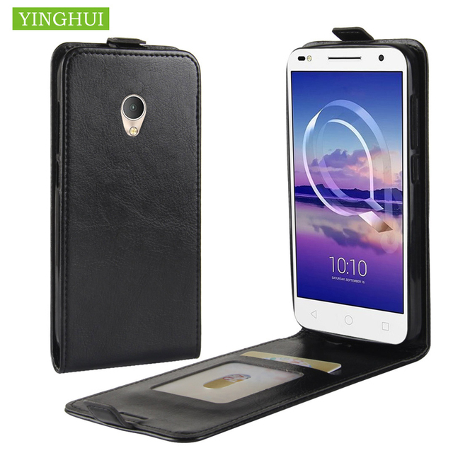 size 40 4d6a9 69bd1 US $3.73 25% OFF|For Alcatel U5 HD Flip Leather Case Vertical Cover With  Card Holder For Alcatel U5 HD U 5 HD 5047D 5047 5047Y Phone Case Cover-in  ...