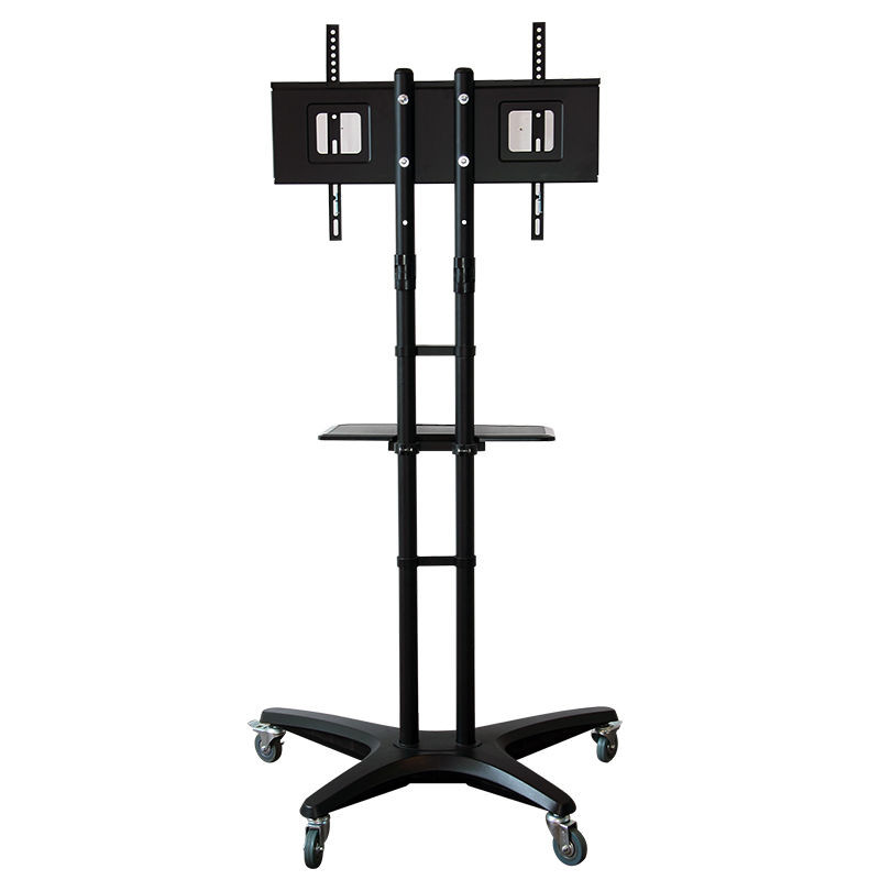 Fashional Mobile TV Cart for LCD LED Plasma Flat Panels Stand with Wheels Mobile Fit for 32''-65'', Max Support 40KG 1pcs lots tv mobile bracket 32 to 52 lcd monitor mobile bracket cart pushcart st av102 free shipping by fedex