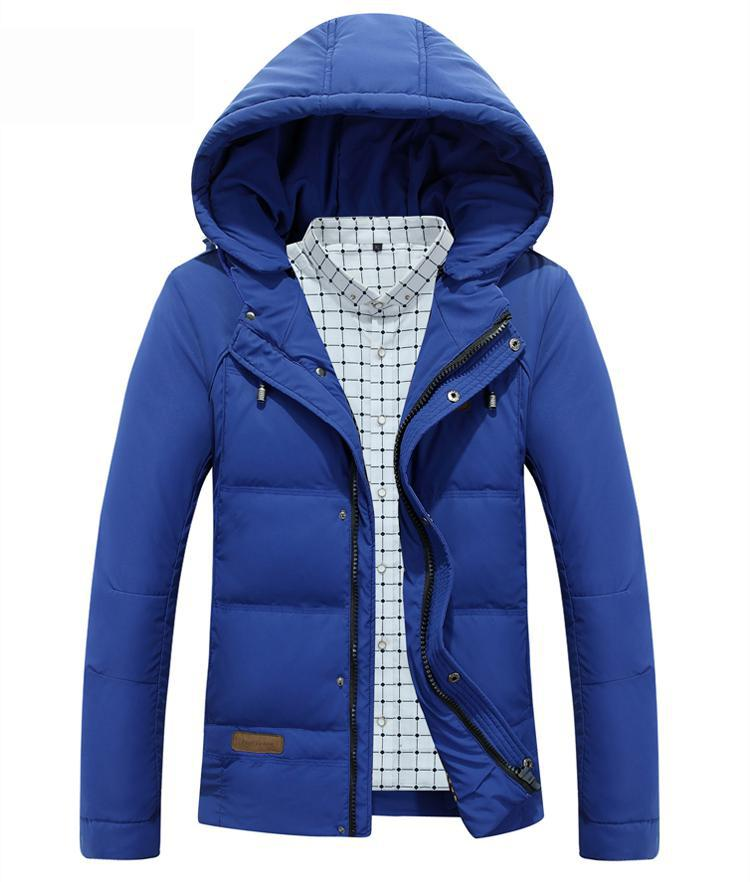 2017 New Brand Winter Jacket Men Hooded Fashion Clothes Men's Jackets and coats Casual Mens Parkas Thicken Warm Coat for Male casual 2016 winter jacket for boys warm jackets coats outerwears thick hooded down cotton jackets for children boy winter parkas