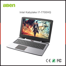 "BBEN G16 Laptop Windows 10 Nvidia GeForce GTX1060 Intel Kabylake i7 8GB RAM 128G SSD 1T HDD WiFi RGB Backlit Keyboard 15.6"" IPS"