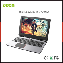 "BBEN G16 Laptop Windows 10 Nvidia GeForce GTX1060 Intel Kabylake i7 8GB RAM 128G SSD 1T HDD WiFi RGB Backlit Keyboard 15.6"" IPS"