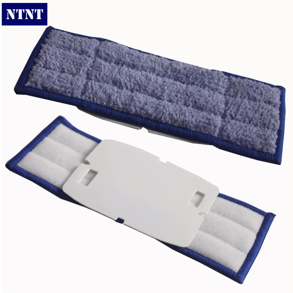 NTNT 3pcs/lot Replacement Triple-pass Washable wet sweeping Pads mopping pads mop cloth for iRobot Braava Jet 240 mop pads
