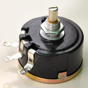 Image 2 - (2 pcs/lot) 100 OHM 5W Wirewound Rotary Potentiometer, WX112(050) Pots, 5 Watts.