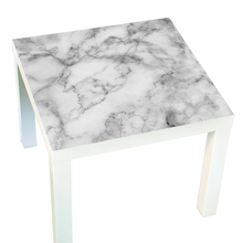 New Gray Marble Lack Desktop Table Sticker Self-adhesive Waterproof DIY Renovation Stickers Home Furniture Decoration  55x55cm
