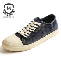 Maden Spring New Mens Casual Shoes High Quality Suede Comfortable Male Shoes Retro Style Breathable Driving