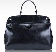 2016 NEW Women GENUINE LEATHER Handbag Italian stylish lady TOTE Women Crossbody bags Fashion bag for girl