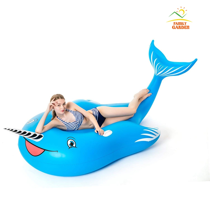 Enjoyable Us 58 0 Giant Inflatable Unicorn Blue Whale Pool Float With Rapid Valves Swimming Pool Summer Beach Party Toys Lounge Raft For Adult In Swimming Creativecarmelina Interior Chair Design Creativecarmelinacom