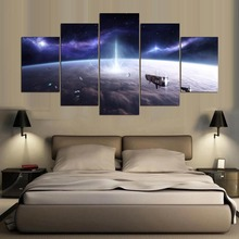 Space Modern Decorative HD Print Wall Art Canvas Painting Artwork Landscape Home For Living Room
