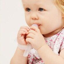 cb3bf25363815 Gants de dentition pour bébé arrêtez de succion du pouce anneau de dentition  pour prévenir la morsure du doigt de bébé préventio.
