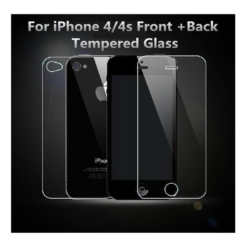 Պաշտպանիչ ապակիներ Apple iPhone 4 4s- ի համար - Բջջային հեռախոսի պարագաներ և պահեստամասեր - Լուսանկար 2