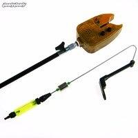 2017LED Balıkçılık Bite Alarm Set Sazan lokma Alarm Elektronik Balık Bite Alarm Bulucu Ses Uyarısı LED Işık Sopa Balıkçılık Aksesuarları