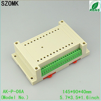 4 kind of goods, each one 10 pieces. plastic enclosure/ din rail enlcosure/wall mount enclosure