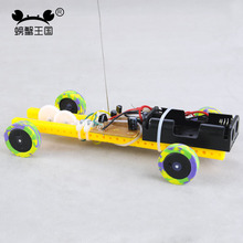 PW L006 DIY Mini RC Car Technology Invention Funny Puzzle Education Car Toy