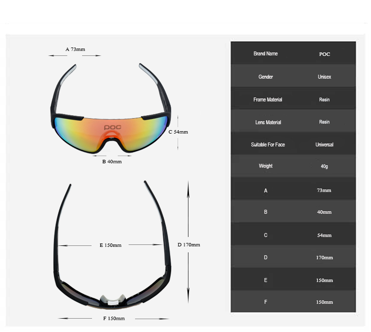 9e406f933533 2019 Crave 5 Lens UV400 Photochromic Brand Cycling SunGlasses ...