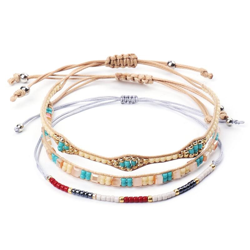 Vintage Jewelry Colorful Ball Bracelet Bangle Ethnic Charm Women Tassel Gift
