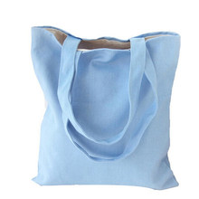 2018 Eco Reusable Shopping Bags Cloth Fabric Grocery Packing Recyclable Bag Hight Simple Design Healthy Tote Handbag Fashion(China)
