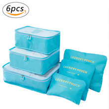 Travel Luggage Organizer Multi-functional Storage Bags Clothing Sorting Packages Packing Cubes Laundry Pouches