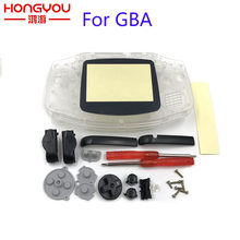 For GBA Case Replacement Clear Complete Housing Shell Case For GBA Shell Cover For Nintendo Game Boy Advance(China)