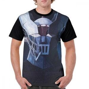 Mazinger T Shirt Mazinger Smoke T-Shirt Casual Printed Tee Shirt Polyester Men Fun 5x Short-Sleeve Tshirt