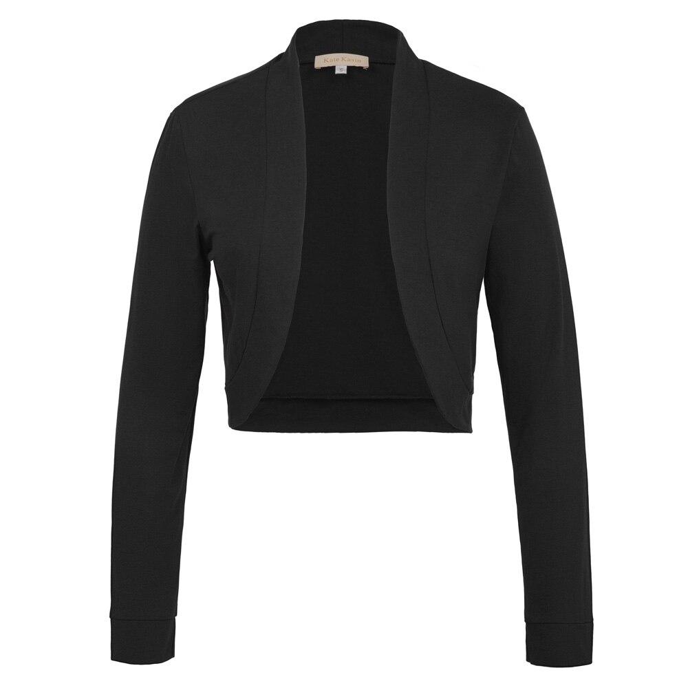 2017 Sexy Black White Cotton Bolero Womens Elegant Ladies -2459