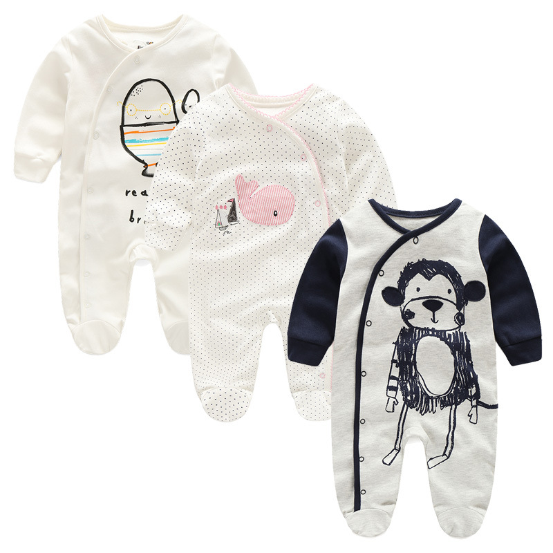 spring autumn Baby Girl Clothes 2017 New Newborn clothes baby cotton girls romper long-sleeve baby product , baby rompers cotton baby rompers set newborn clothes baby clothing boys girls cartoon jumpsuits long sleeve overalls coveralls autumn winter