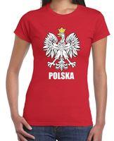 Polska 독수리 Orzel 여자 폴란드어 티셔츠 폴란드 세계 재미 브랜드 짧은 T 셔츠 뜨거운 판매 느슨한 피팅 티 탑 셔츠