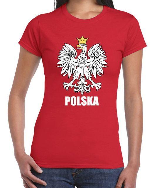 3c452add8 Polska Eagle Orzel Womens Polish T-Shirt Poland World Funny Brand Short T  Shirt Hot Sale Loose-Fitting Tops Tee Shirt