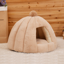 JORMEL Round Dog Bed For Cat Winter Warm Sleeping Lounger Mat Puppy Kennel Pet Machine Washable