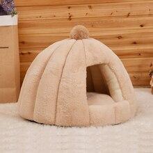 JORMEL lit rond pour animaux domestiques, pour chiens et chats, tapis de couchage chaud pour lhiver, niche pour chiots et chats, lavable en Machine