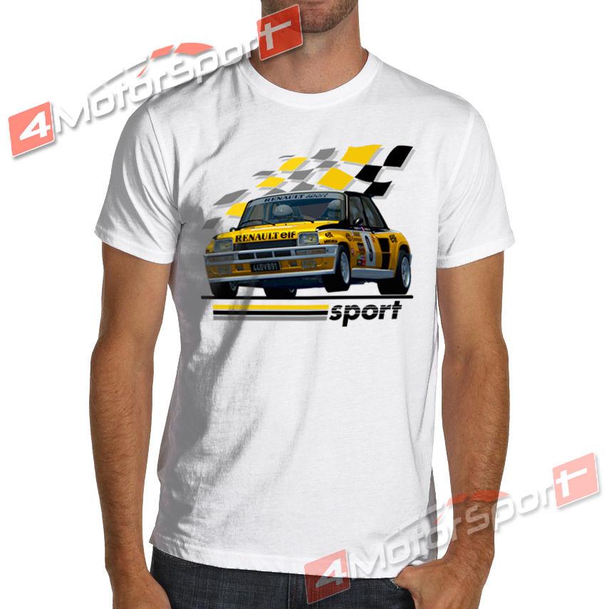 1983 R5 Renault 5 Turbo Rally WRC Racinger T-Shirt Maxi Gt Alpine Jean Ragnotti