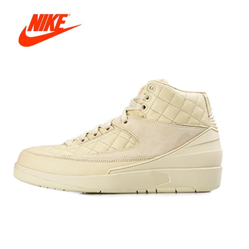 Official Original Nike Air Jordan 2 Retro AJ2 Just Don Men's basketball shoes Outdoor sports 834825-250