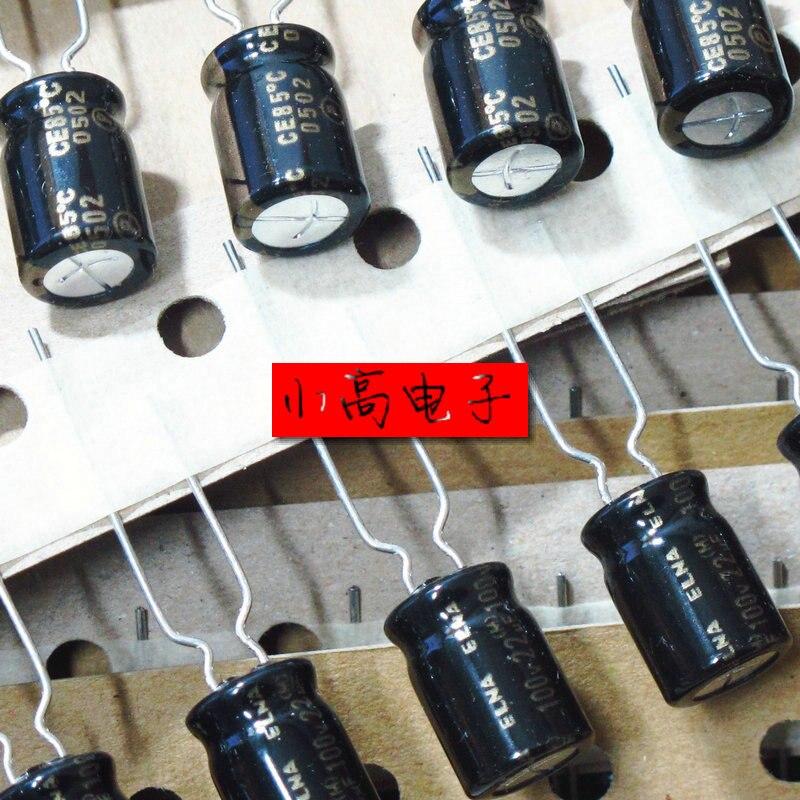 20pcs/50pcs New Original Malaysia production ELNA Brand RA3 series 22UF 100V 8*11.5MM Audio Electrolytic Capacitor free shipping