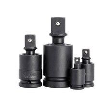 """Universal Pneumatische Schlüssel Buchse Adapter Set 1/4 """"3/8"""" 1/2 """"1"""" Stick 90 Grad Ratsche Winkel Verlängerung bar Stange Auto Reparatur Werkzeug"""