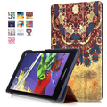 A8-50LC case for Lenovo tab 2 tab3 A8-50 A8-50F A8-50LC 8'' PU leather magnet cover cases 8'' print case+screen protector+stylus